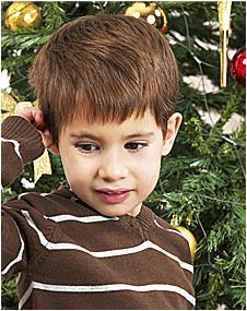 Обрадуйте сыночка новогодней ёлочкой