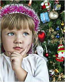 Обрадуйте дочку новогодней ёлочкой
